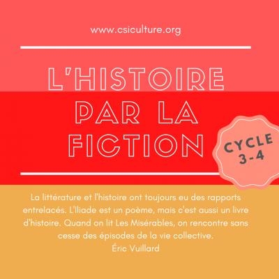 histoire par la fiction