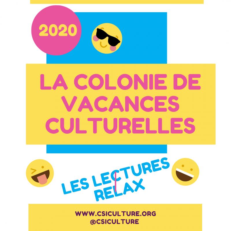 Colonie vacances lecture 2