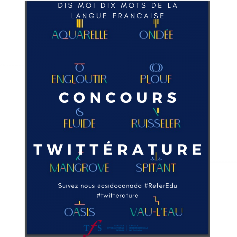 Concours twitterature 2020 2