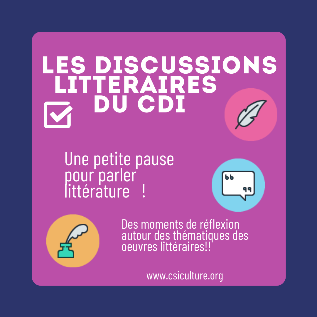 Discussions litteraires