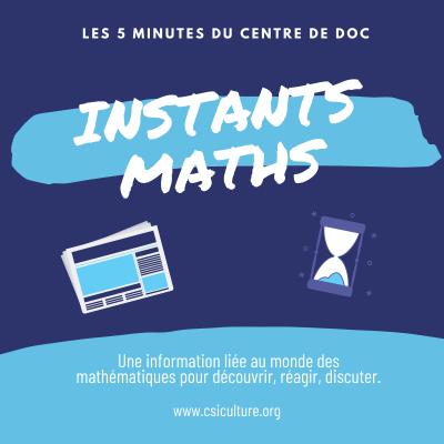 Instants maths