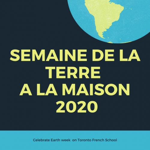 Semaine de la terre 2020 1
